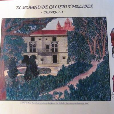 Teatrillo El huerto de Calisto y Melibea (2000 c.)