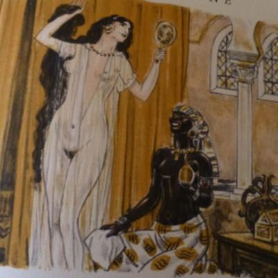 Ilustración quinta del acto VIII de la edición de París (1949)