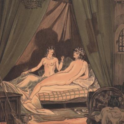 Ilustración segunda del acto III de la edición París (1949)