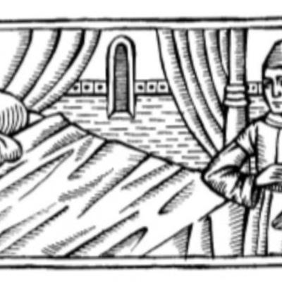 Ilustración primera del acto XIII de la edición de Barcelona (1996)