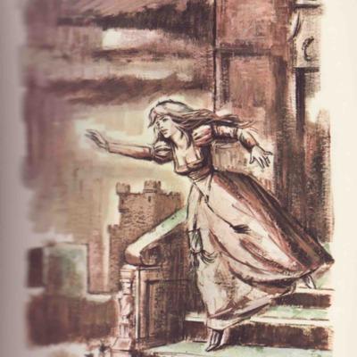 Ilustración primera del acto XX de la edición de Barcelona (1968)