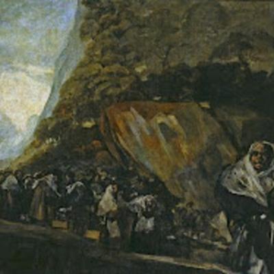 El santo oficio o La Inquisición, de Goya (1820)