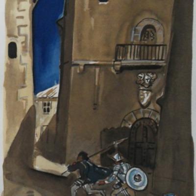 Ilustración segunda del acto XII de la edición de París (1976)