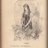 Ilustración primera del acto I de la edición de Barcelona (1883)