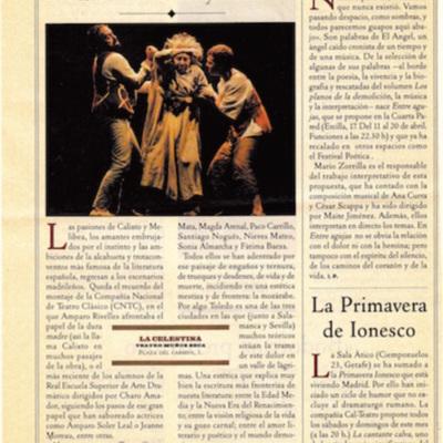 Representación de la Compañía Guirigai, Madrid, 1997