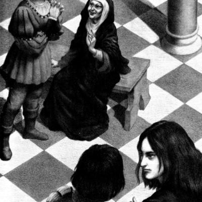 Ilustración segunda del acto VI de la edición de Barcelona (1996)