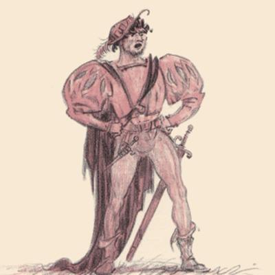 Ilustración tercera del acto XVIII de la edición de París (1949)