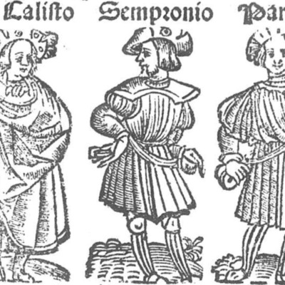 Ilustración del acto II de la edición de Toledo (1538)