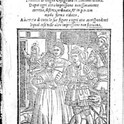 Portada de Venecia, 1541
