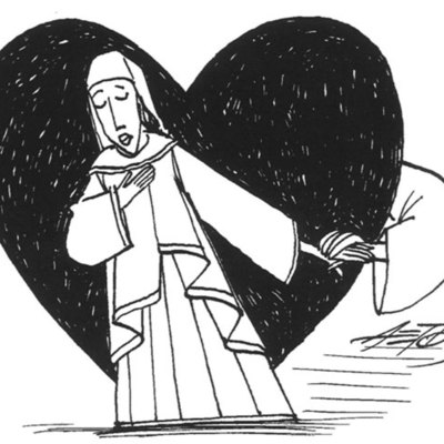 Caricatura de Melibea, de Aetos(2013)