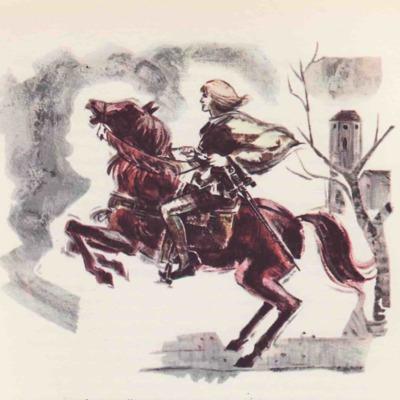 Ilustración sexta del acto I de la edición de Barcelona (1968)