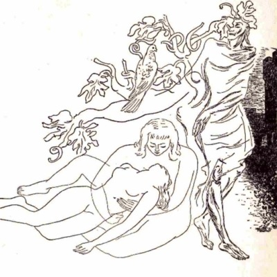 Ilustración primera del acto XX de la edición de México (1947)