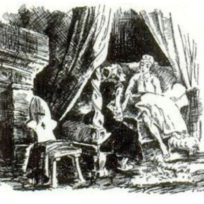 Ilustración primera del acto X de la edición de París (1989)