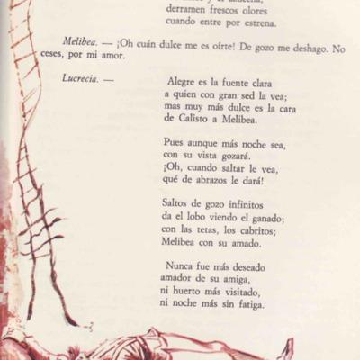 Ilustración primera del acto XIX de la edición de Barcelona (1968)