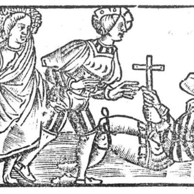 Ilustración segunda del acto XIII de la edición de Toledo (1538)