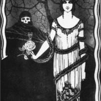 Poster campaña antivenérica, La oferta peligrosa, de Manchón (1927)