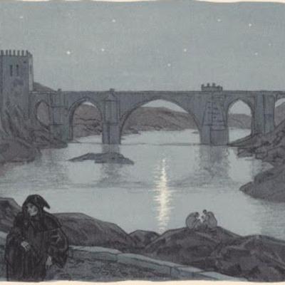 Ilustración primera del acto XVIII de la edición de París (1949)