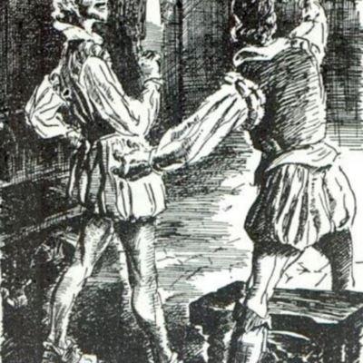Ilustración primera del acto VI de la edición de París (1989)