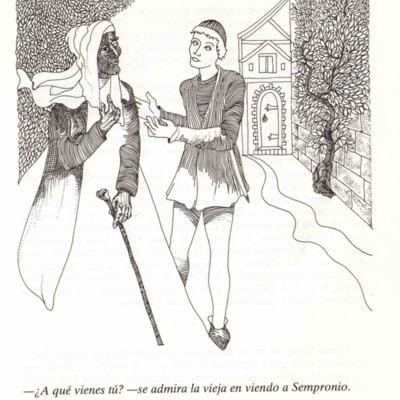 Ilustración del acto V de la edición Barcelona, 1988.