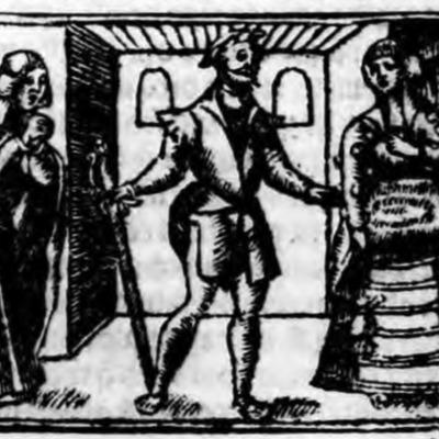 Ilustración del acto XVIII de la edición de Zaragoza (1545)