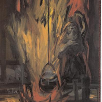 Ilustración de la edición V Centenario del Ayuntamiento de La Puebla de Montalbán, 1999.