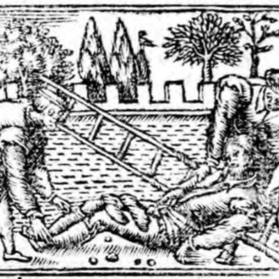 Ilustración segunda del acto XIX de la edición de Zaragoza (1545)