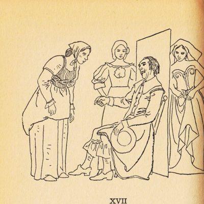 Ilustración del acto XVII de la edición de Barcelona (1967)
