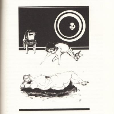 Ilustración del acto VII de la edición de Buenos Aires, 2002