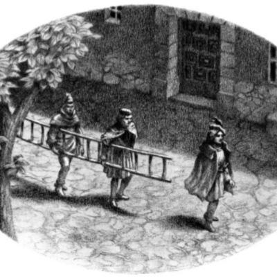 Ilustración segunda del acto XIX de la edición de Barcelona (1996)