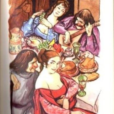 Ilustración del acto IX de la edición de Barcelona (1959)