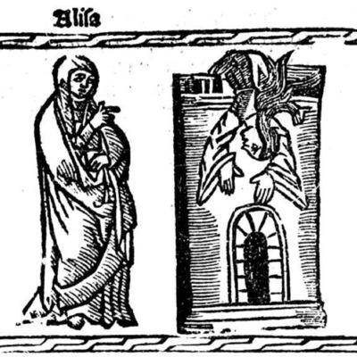 Ilustración del acto XXI de la edición de Valencia (1529)