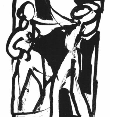 Ilustración del acto 1 de la edición de Kassel (1998)