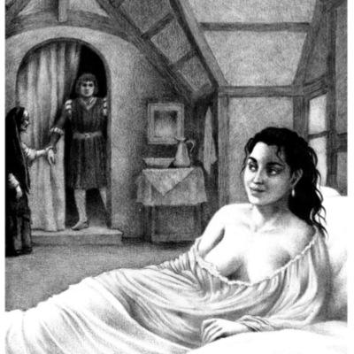 Ilustración cuarta del acto VII de la edición de Barcelona (1996)