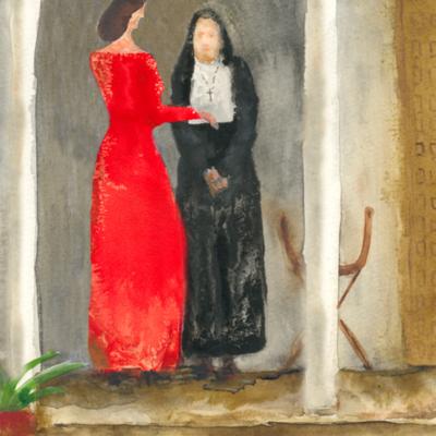 Celestina y Melibea, de Acedo (2008 c.)