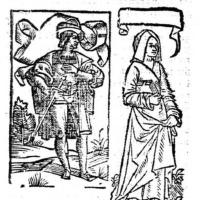 Ilustración del acto VII de la edición de París (1542)