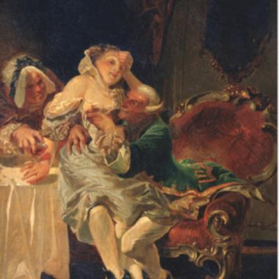 El seductor, de Zichy (1891)