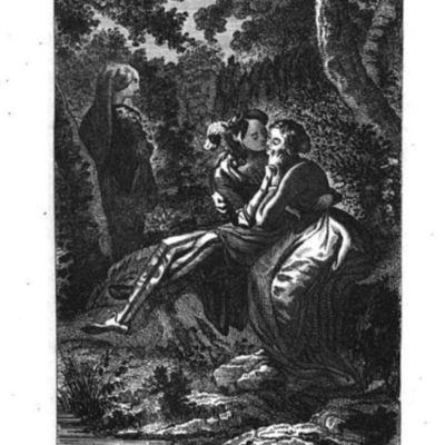 Ilustración del acto XIX de la edición de Barcelona (1841)