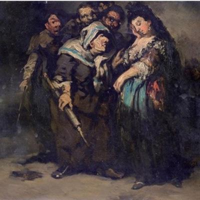 La reprimenda, de atribución dudosa (1817)