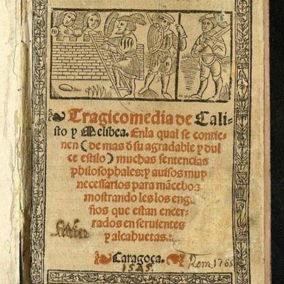 Portada de Zaragoza, 1545