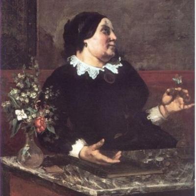 Madre Gregoire, de Courbet (1855)