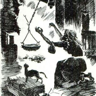 Ilustración cuarta del acto I de la edición de París (1989)