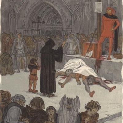 Ilustración segunda del acto XIII de la edición de París (1949)