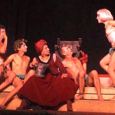 Representación del Teatro el Público, La Habana, 2001-2002
