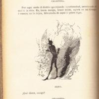 Ilustración primera del acto IV de la edición de Barcelona (1883)