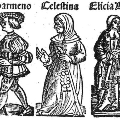 Ilustración del acto IX de la edición de Toledo (1538)