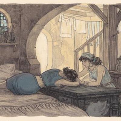 Ilustración segunda del acto XV de la edición de París (1949)