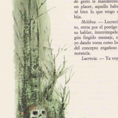 Ilustración segunda del acto XVI de la edición de Barcelona (1968)