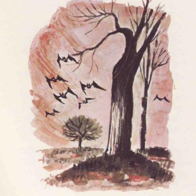 Ilustración cuarta del acto VII de la edición de Barcelona (1968)