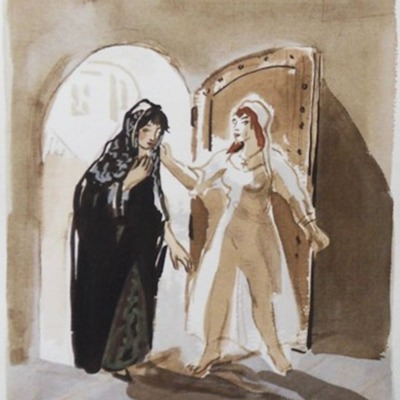 Ilustración del acto XVII de la edición de París (1976)