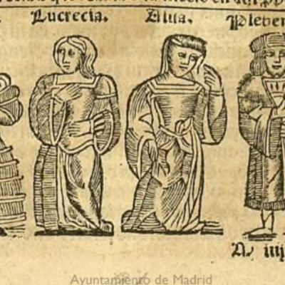 Ilustración del acto XVI de la edición de Zaragoza, 1545